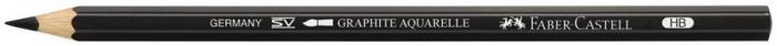 Creion Graphite Aquarelle HB Faber-Castell 0