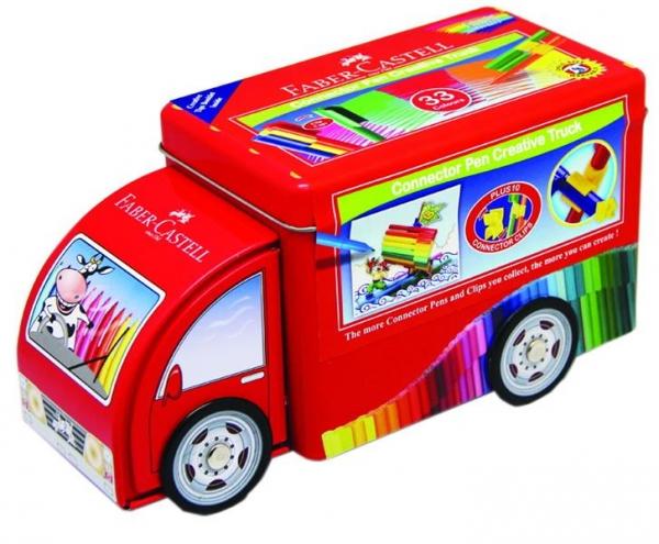 Carioca Camion Connector Faber-Castell - 33 Culori  1