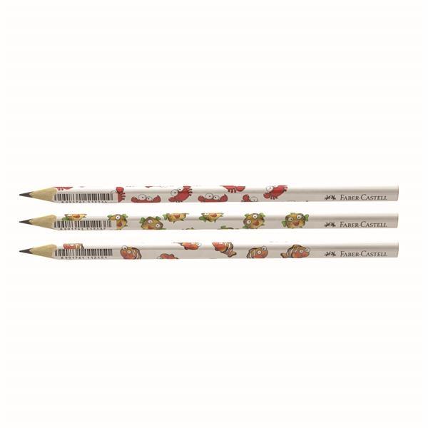 Creion Grafit Faber-Castell - B Lumea Marina  1