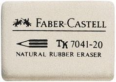 Radiera Creion 7041 Faber-Castell 0