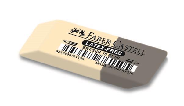 Radiera Combinata 7061 Faber-Castell 1