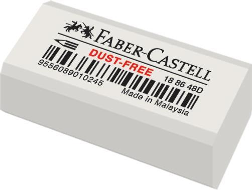 Radiera Creion Dust Free 48 Faber-Castell 0