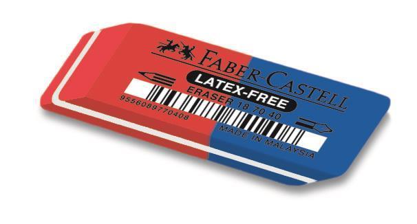 Radiera Combinata 7070 Faber-Castell 0