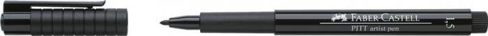 Pitt Artist Pen 1.5mm Negru Faber-Castell 1