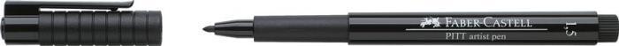 Pitt Artist Pen 1.5mm Negru Faber-Castell 0