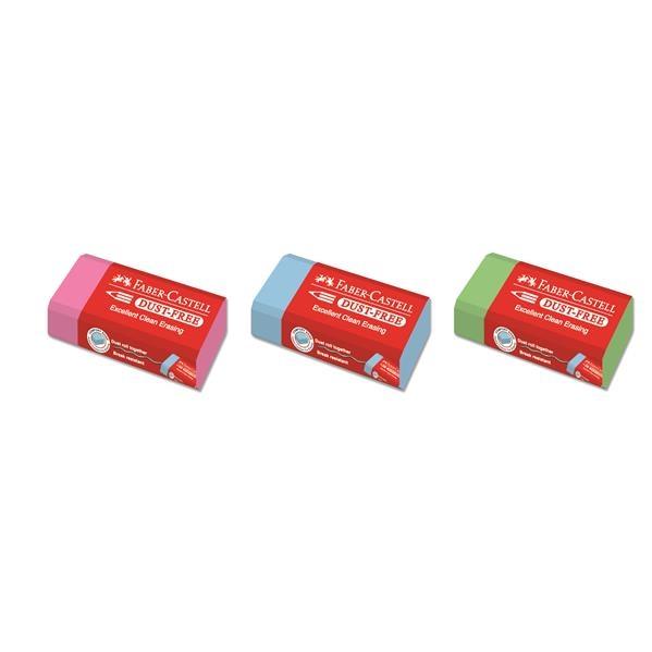 Radiera Creion Dust Free Pastel 24 Faber-Castell 1