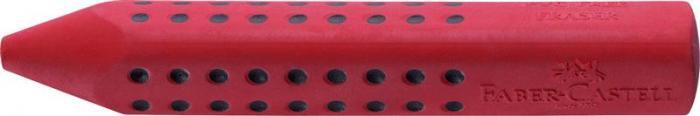 Radiera Creion Grip 2001 Faber-Castell - rosu/albastru 2