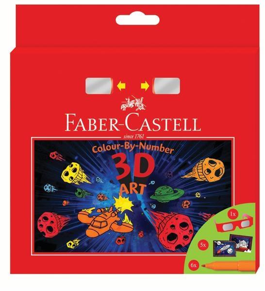 Set Cadou Faber-Castell - 6 Carioci Connector 3D Art  2