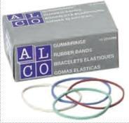 Elastice pentru bani,   50g/cutie, D 85 x 1,5mm, ALCO 0
