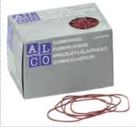 Elastice pentru bani,  500g/cutie, D 85 x 1,5mm, ALCO 0