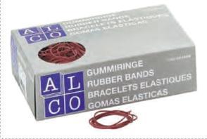 Elastice pentru bani, 1000g/cutie, D 85 x 1,5mm, ALCO 2