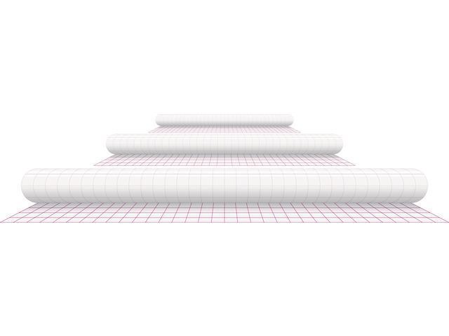 Folie autoadeziva in rola (50cm x 2.5m), pentru imbracat carti, KANGARO - transparenta 2