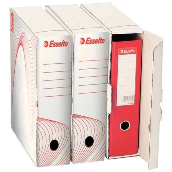 Cutie de arhivare ESSELTE Standard pentru bibliorafturi 0