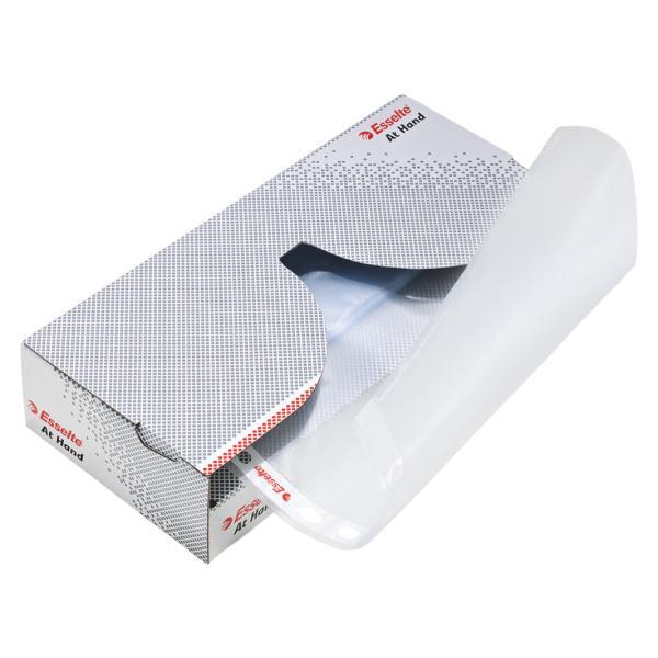 Dispenser cu folii de protectie ESSELTE, A4, standard, 43 mic, cutie de 50 buc 0