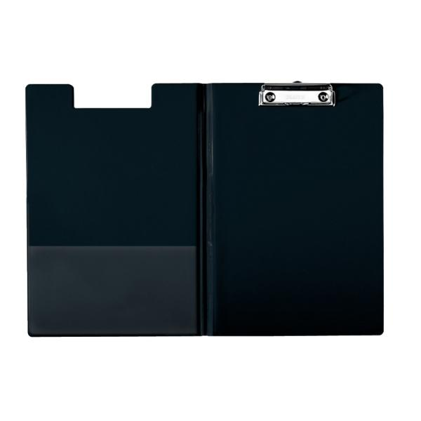 Clipboard ESSELTE dublu, PP - negru 0