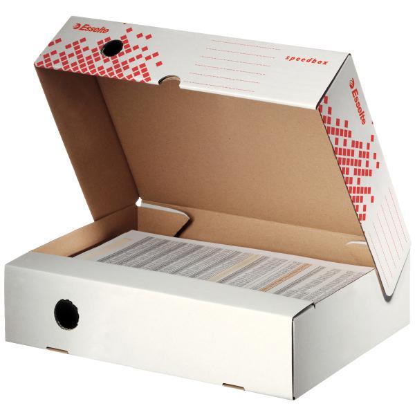 Cutie de arhivare ESSELTE Speedbox  80mm, orizontala [0]