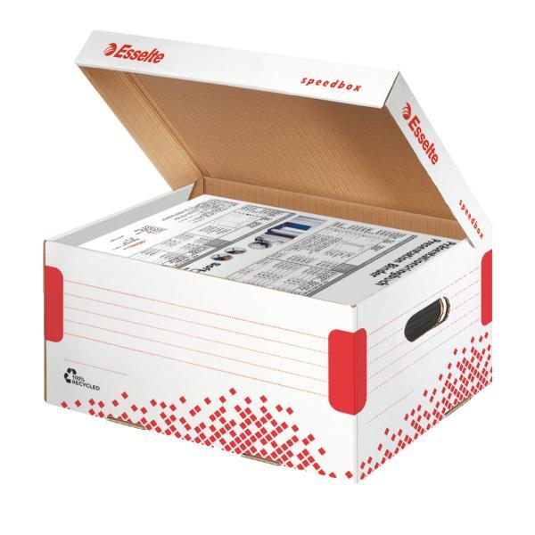Cutie de arhivare ESSELTE Speedbox cu capac, A4 [0]