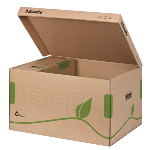 Container de arhivare ESSELTE Eco, cu capac pentru cutii 80/100 [0]