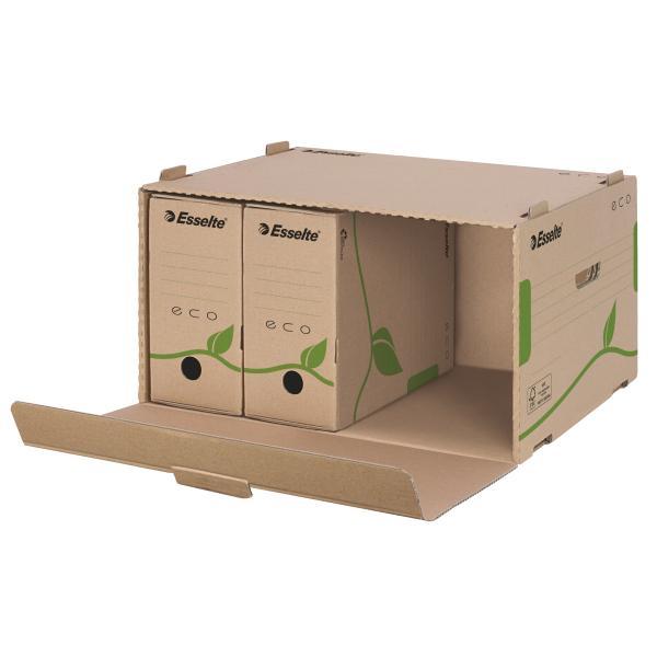 Container de arhivare ESSELTE Eco, cu deschidere frontala, pentru cutii 80/100 [0]