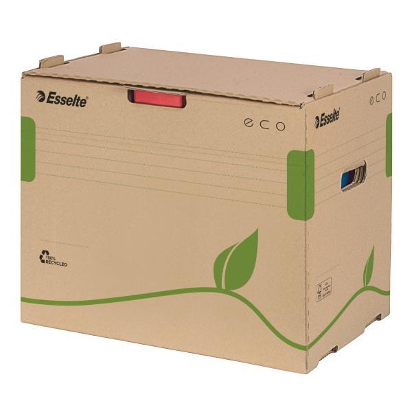 Container de arhivare ESSELTE Eco pentru bibliorafturi 0