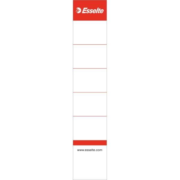 Etichete ESSELTE interschimbabile din carton pentru biblioraft 50 mm , 10/set [0]