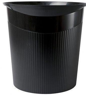 Cos de birou pentru hartii, 13 litri, HAN Loop - negru 1