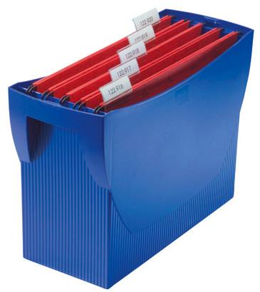 Suport plastic pentru 20 dosare suspendabile, HAN Swing - albastru [0]