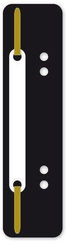 Alonje din plastic A5, 100/set, KANGARO - negru 0
