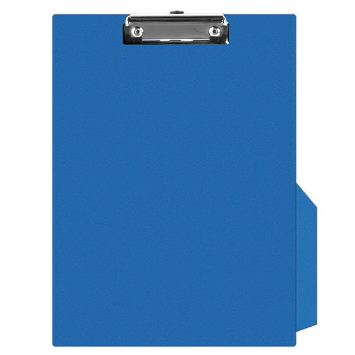 Clipboard simplu A4, plastifiat PVC, Q-Connect - albastru 0