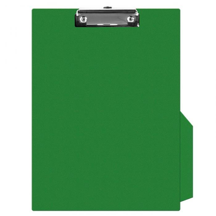 Clipboard simplu A4, plastifiat PVC, Q-Connect - verde [0]