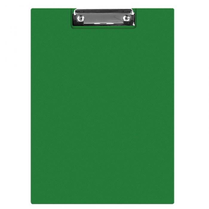 Clipboard dublu A4, plastifiat PVC, Q-Connect - verde 0