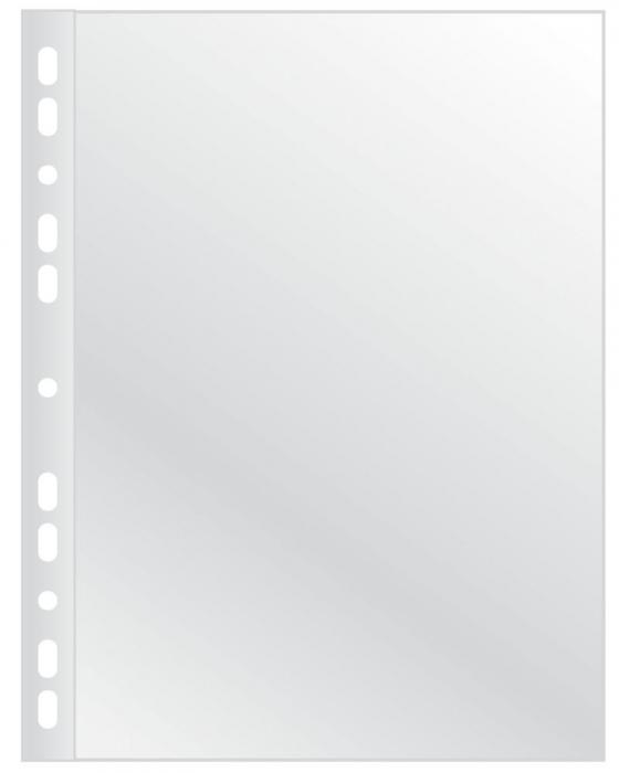 Folie protectie pentru documente,  75 microni, 100folii/set, Q-Connect - cristal [0]