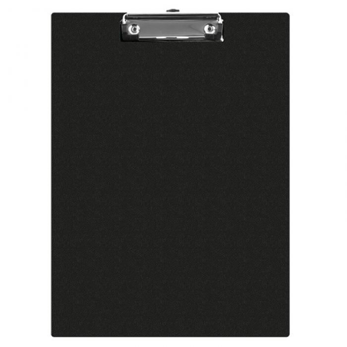 Clipboard simplu A5, plastifiat PVC, Q-Connect - negru [0]