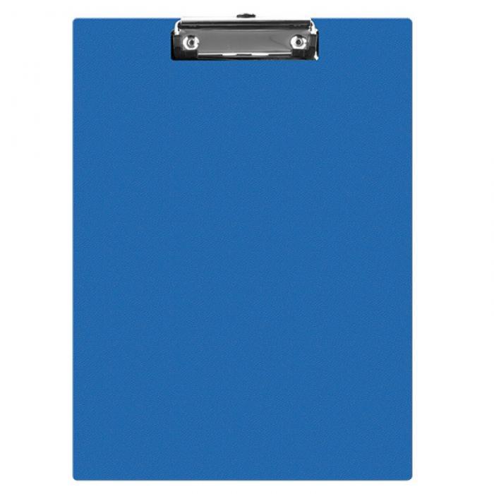 Clipboard simplu A5, plastifiat PVC, Q-Connect - albastru 0