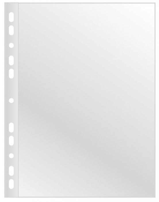 Folie protectie pentru documente, 120 microni, 100folii/cutie, Q-Connect - cristal 0