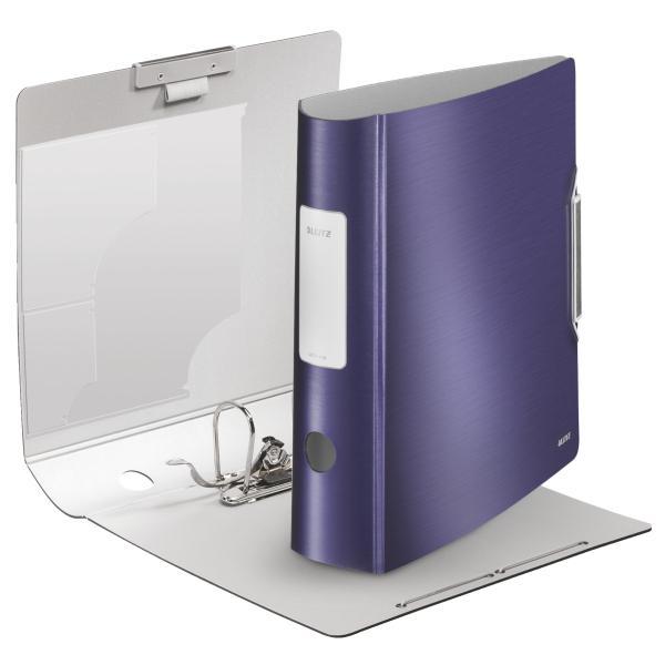 Biblioraft LEITZ Active Style 180, 75mm, polyfoam - albastru violet [0]