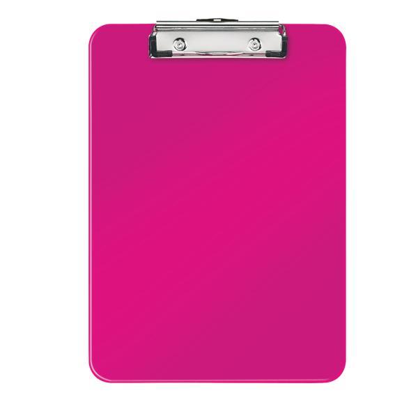 Clipboard simplu LEITZ Wow, PS - roz metalizat [0]