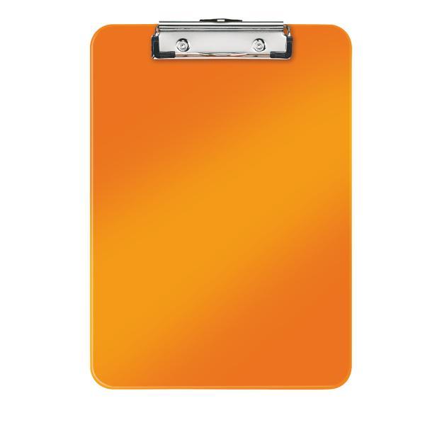 Clipboard simplu LEITZ Wow, PS - portocaliu metalizat 0