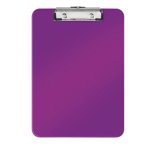Clipboard simplu LEITZ Wow, PS - mov metalizat 0