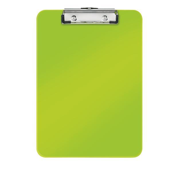 Clipboard simplu LEITZ Wow, PS - verde metalizat [0]