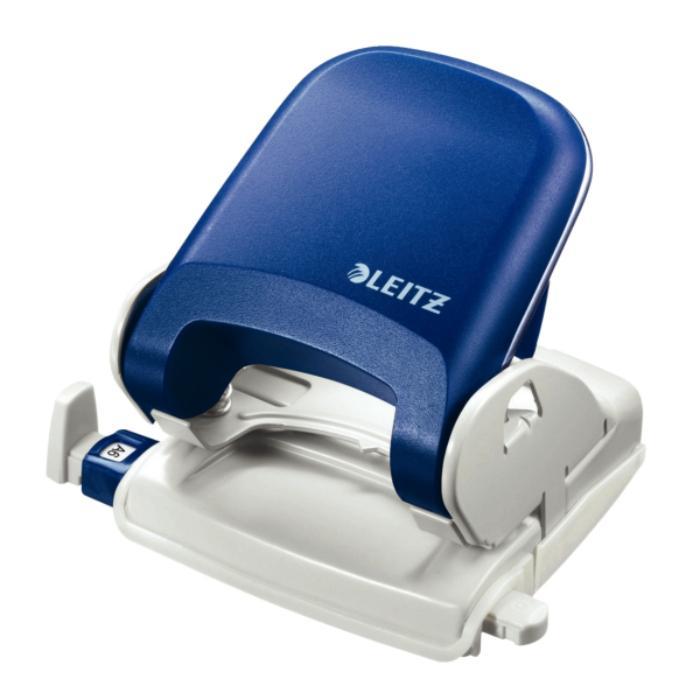 Perforator plastic LEITZ 5005 NeXXt Series, 25 coli - albastru 0