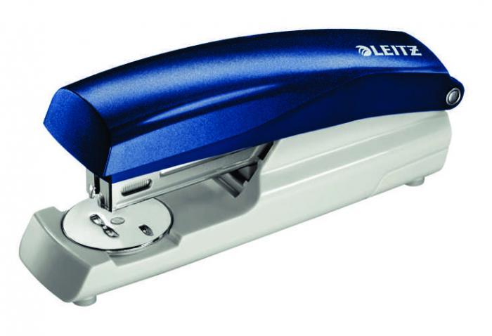 Capsator plastic LEITZ 5500 NeXXt Series, 30 coli - albastru 1