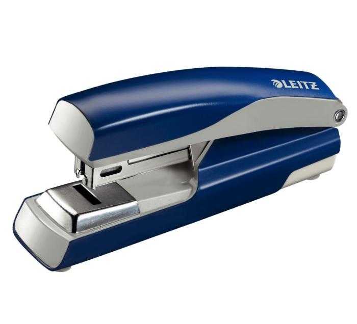 Capsator metalic, LEITZ 5505 NeXXt Series capsare plata,  30 coli - albastru 0