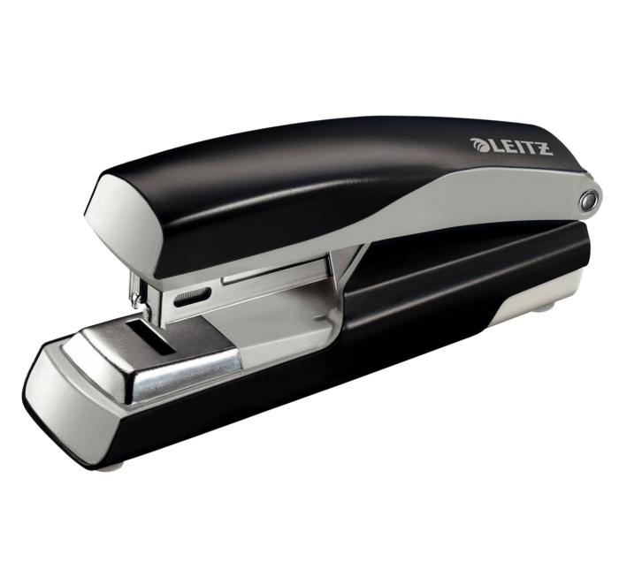 Capsator metalic, LEITZ 5505 NeXXt Series capsare plata,  30 coli - negru 0