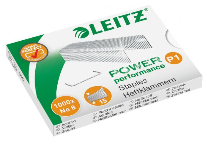 Capse LEITZ Power Performance, N 8, 1000 buc/cutie 0