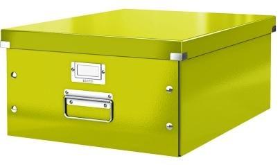 Cutie LEITZ Click & Store mare 369 x 200 x 484 mm, carton laminat - verde [0]