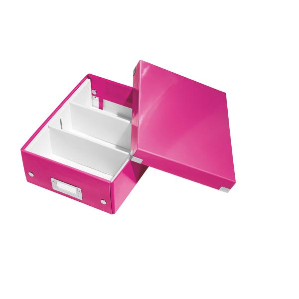 Cutie LEITZ Organizer Click & Store mica - roz 0