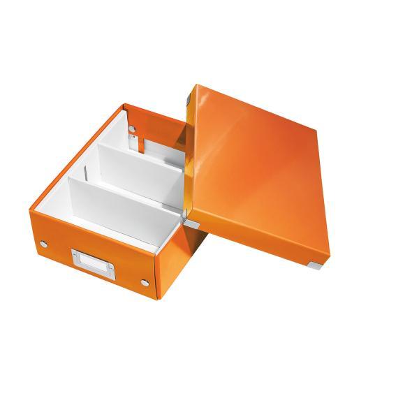 Cutie LEITZ Organizer Click & Store mica - portocaliu 0
