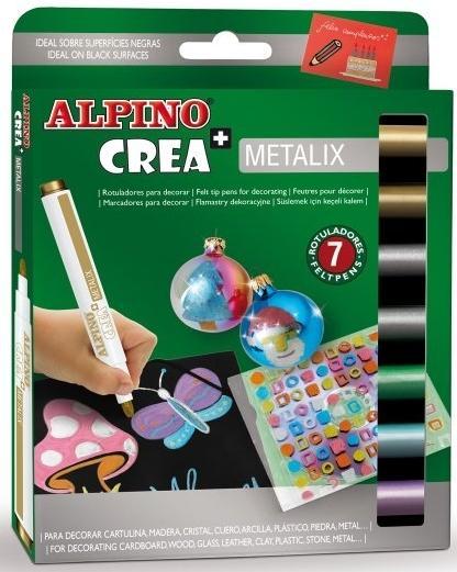 Set ALPINO Crea + METALIX - carioca 1