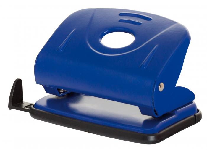 Perforator metalic, 25 coli, Office Products - albastru 0